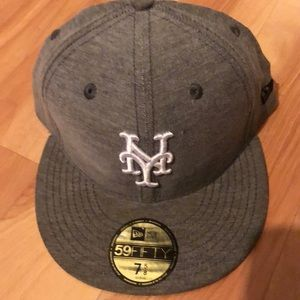 New Era Florida Mariners fitted New era all grey and white